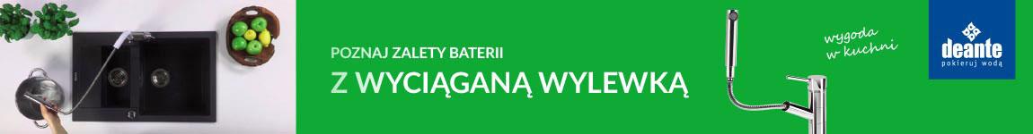 NANOlazienki.pl - Deante baterie z wyciąganą wylewką