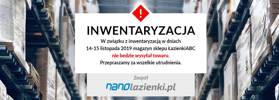 Inwentaryzacja 14-15.11.2019 Nanolazienki.pl