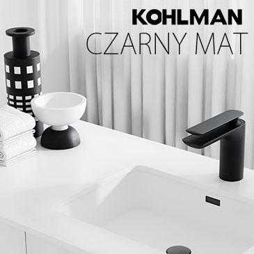 Kohlman - baterie czarny mat