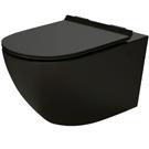 Czarne miski WC